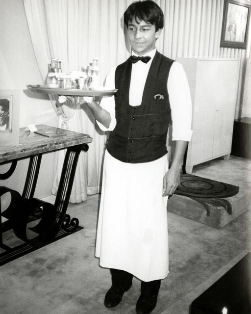 , 'Young Waiter in Paris ,' 1978, Hedges Projects