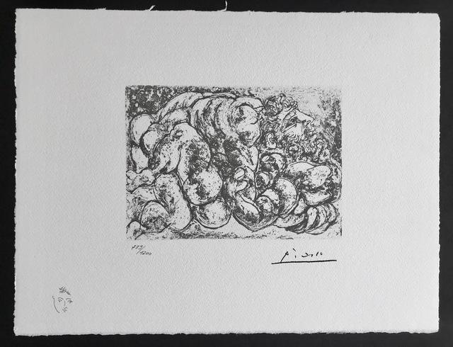 Pablo Picasso, 'Accouplement I (Suite Vollard Planche XXXIX)', 1973, ByNewArt