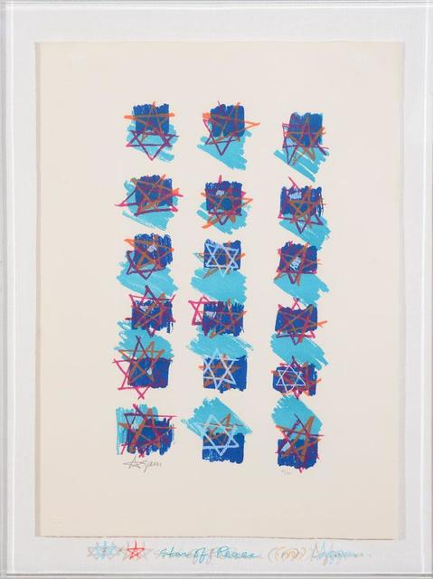 , 'STAR OF PEACE (with original drawings),' 1979, Alpha 137 Gallery