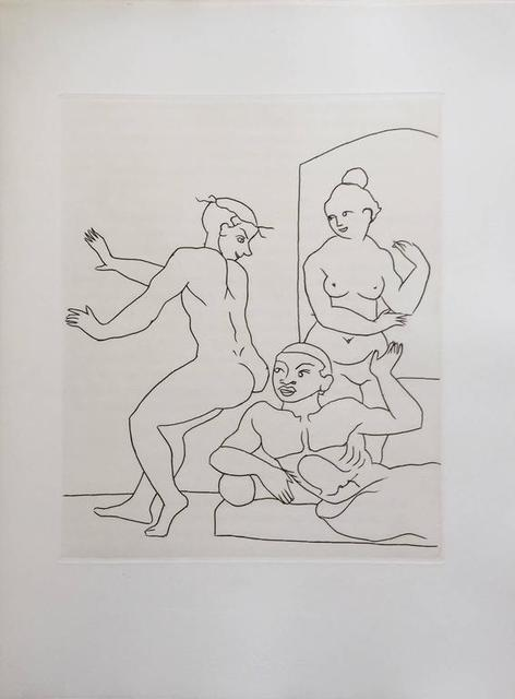 André Derain, 'Erotic Etching from Le Satyricon', 20th Century, Lions Gallery