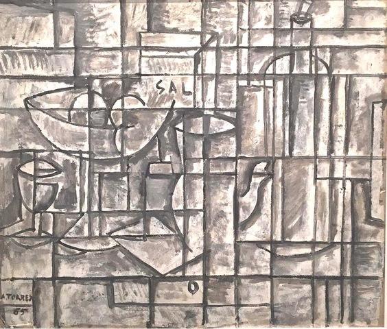 , 'Bodegón constructivo,' 1965, Galería de las Misiones
