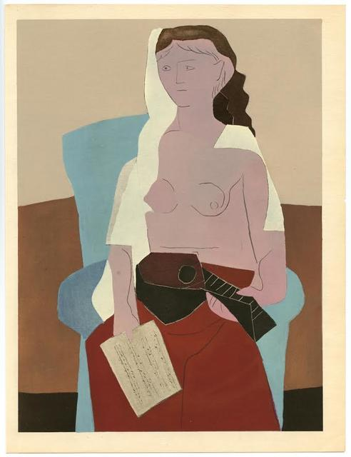 Pablo Picasso, 'Femme assise', 1930, Artsnap