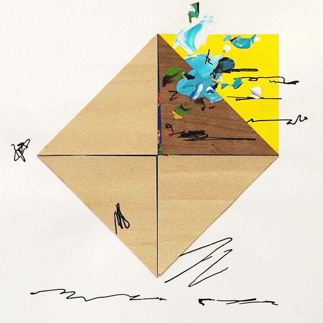 , 'Drawing on two papers #23,' 2017, Artig Gallery