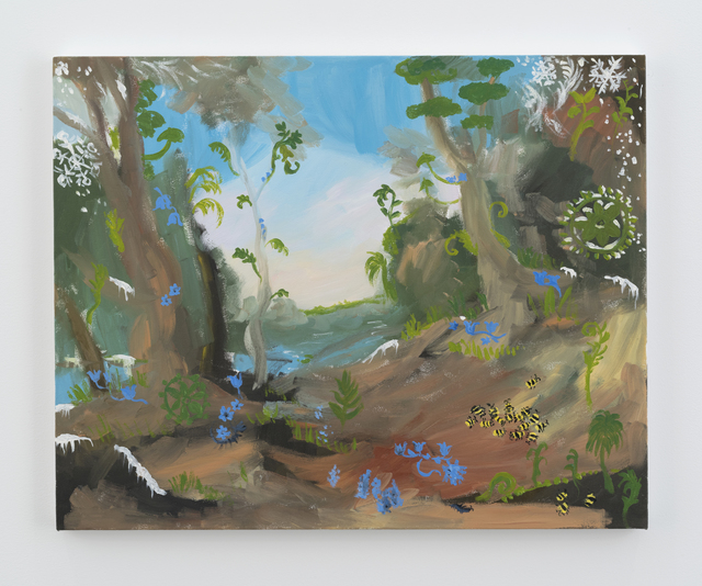 , 'the jungle planet in winter,' 2016, Galerie Eva Presenhuber