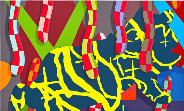 KAWS, 'Far Far Down', 2018, Print, Screenprint, Ross+Kramer Gallery
