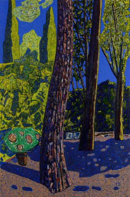 , 'Morning in the Garden,' 2015, La Forest Divonne