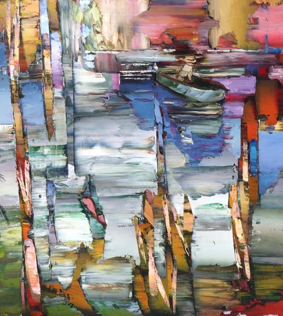 Christopher Langstroth, 'Pond', 2018, Kurbatoff Gallery