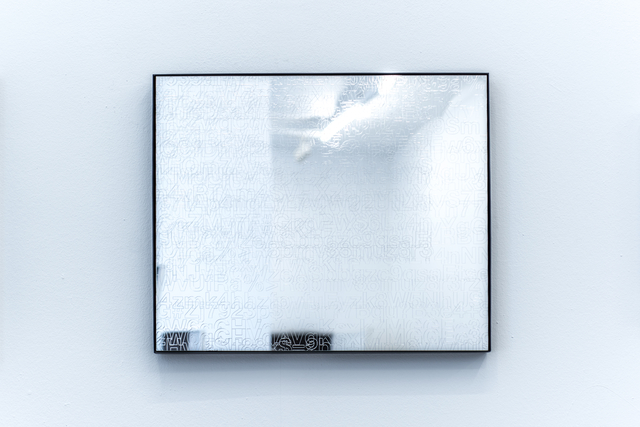 Johannes Wohnseifer, 'Password-Painting (Mirror)', 2017, Galerie Elisabeth & Klaus Thoman