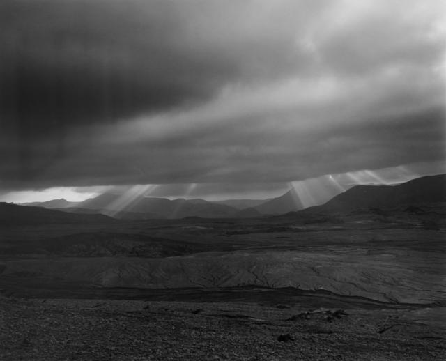 , 'Looking NW across landslide-debris flow from a ridge 3.5 miles NE of Mt. St. Helens,' 1981, Etherton Gallery