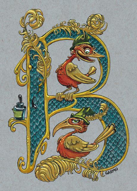 , 'B is for Birds,' , Helikon Gallery & Studios