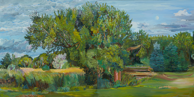 Nancy Friese, 'Long Summer Light', 2020, Painting, Oil on canvas, Cade Tompkins Projects