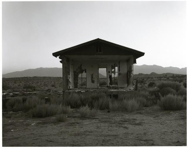 Mark Ruwedel, 'Dusk #21 (Antelope Valley #230)', 2008, Photography, Gelatin Silver Print, Yossi Milo Gallery