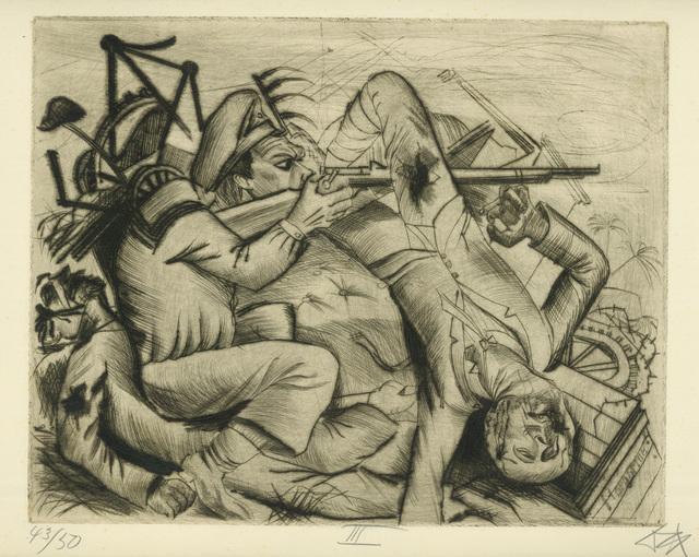, 'DIE BARRIKADE,' 1922, Jörg Maass Kunsthandel