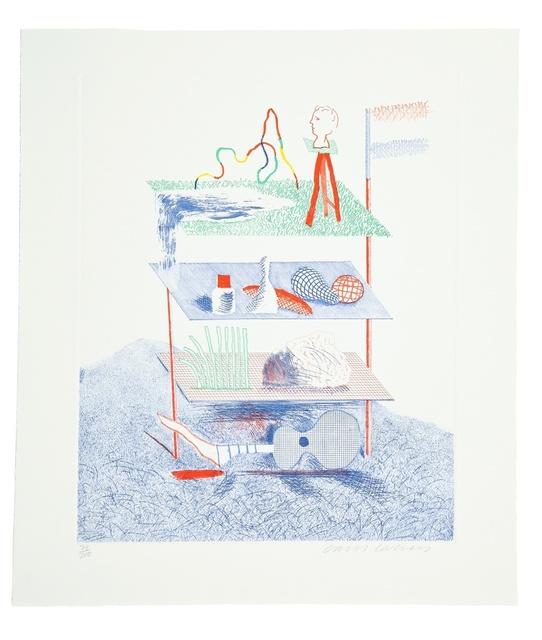 David Hockney, 'Serenade (M.C.A. Tokyo 196)', 1976-77, Forum Auctions