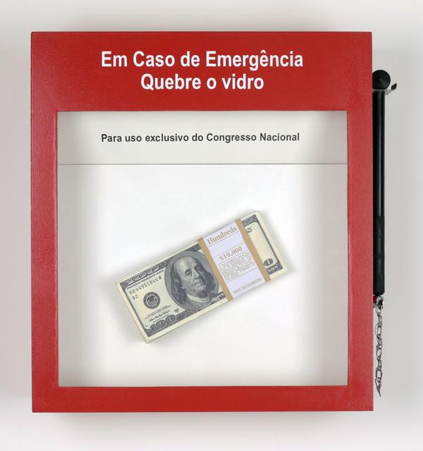 Alexandre Frangioni, 'Emergência III', 2018, Galerie Brésil