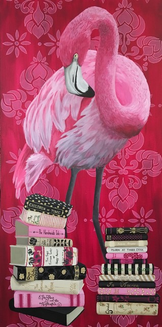 , 'The Introvert Flamingo,' 2018, ÆRENA Galleries and Gardens
