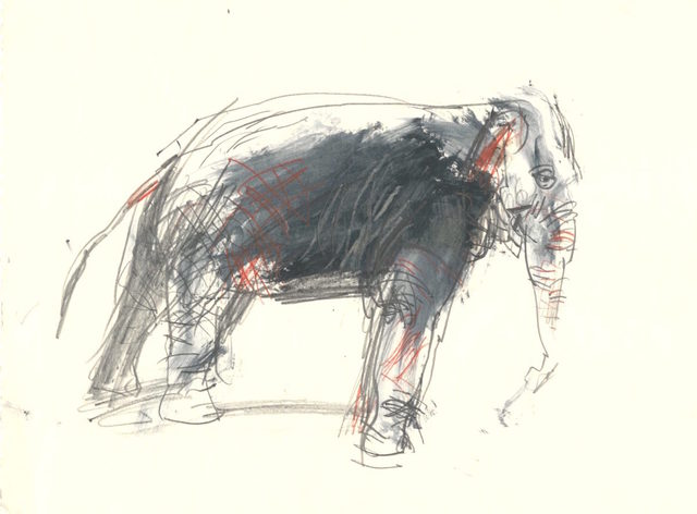 , 'Elephant II,' ca. 1985, Robert Eagle Fine Art