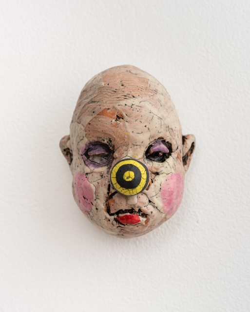 Tom Bartel, 'Medium Doll Head, Yellow and Black Striped Nose', 2018, Eutectic Gallery