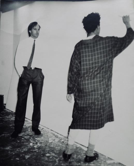 "Andy Warhol, '""Untitled(Jon Gould & Jean Michel Basquiat)""', 1984-1985, Photography, Paper, Bengtsson Fine Art"