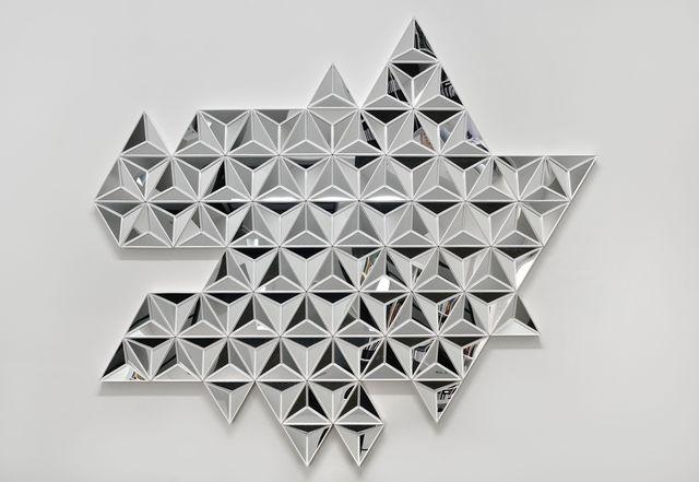 , 'Exploded Reflexion,' 2014, Galerie Mitterrand
