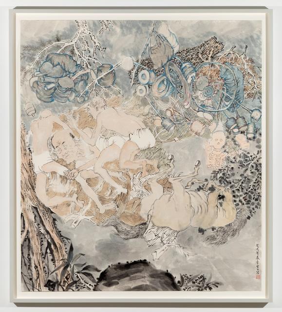 , 'Tumbling,' 2017-2018, James Cohan