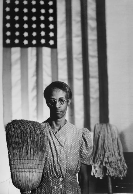 , 'American Gothic, Washington, D.C.,' 1942, Rhona Hoffman Gallery