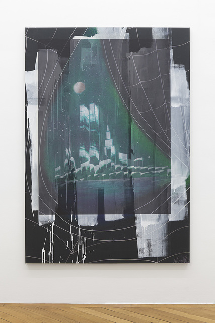 , 'Manhattan Skyline with Twin Towers Reflected in the Eye of Venom,' 2017, Société