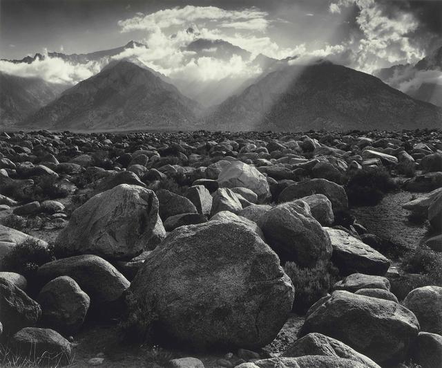 Ansel Adams, 'Mount Williamson, Sierra Nevada, from Manzanar, CA', 1944, Atlas Gallery