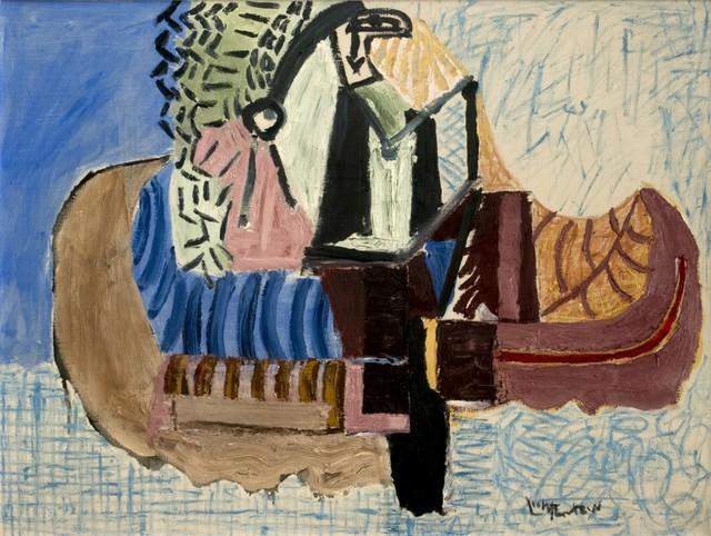 "Roy Lichtenstein, '""Indian Paddling Canoe""', 1956, Galerie Thomas"