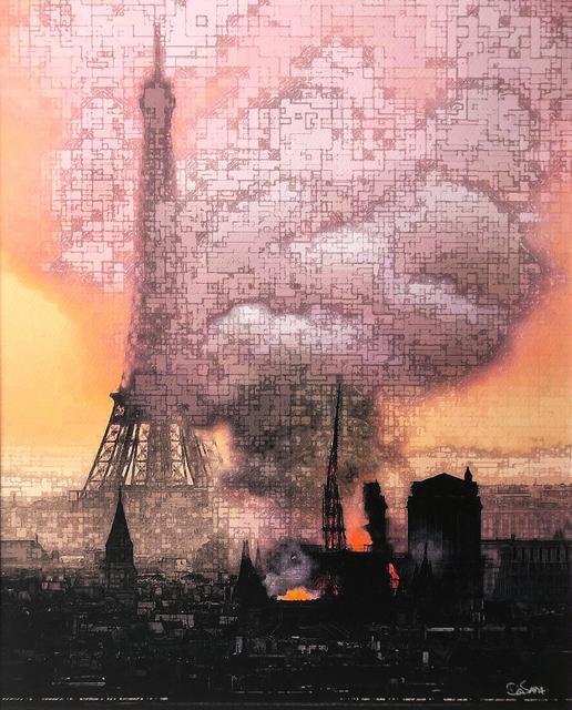 David Ash, 'Cœur qui Saigne', 2019, Galerie Libre Est L'Art