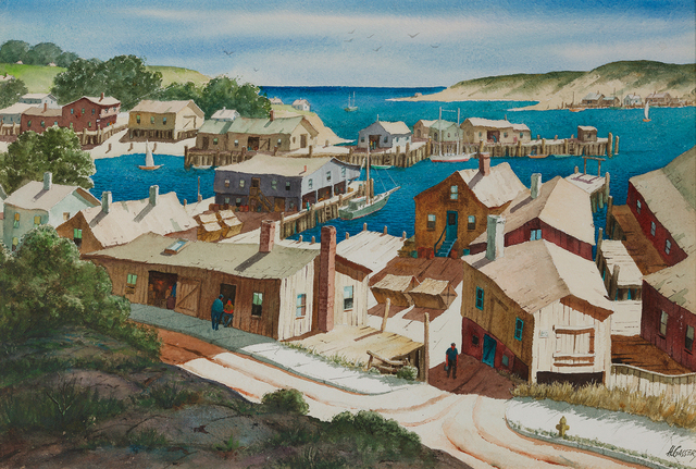 , 'Gloucester Vista,' , Questroyal Fine Art