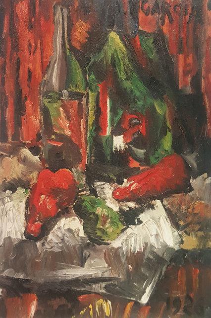 , 'Naturaleza muerta,' 1926, GALERÍAS A. CRISTOBAL