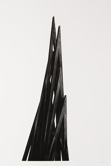 Bernar Venet, 'Acute Unequal Angles', 2017, William Shearburn Gallery