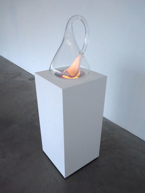 , 'Klein Bottle with the Image of Its Own Making (after Robert Morris),' 2014, Lia Rumma