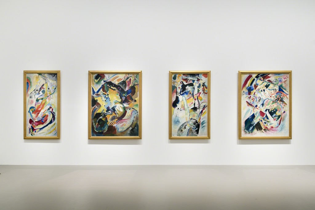 View of Kandinsky at Fondation Louis Vuitton, Paris 2015