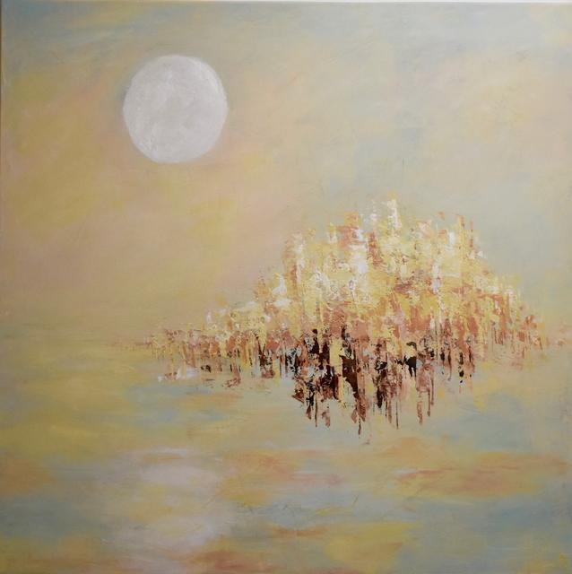 , 'La lune blanche IV,' 2017, Susan Calloway Fine Arts