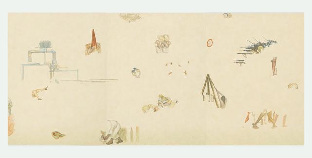 , 'Tríptico 2. Fragmentos de México hoy y mañana (Diego Rivera),' 2016, Proyecto Paralelo