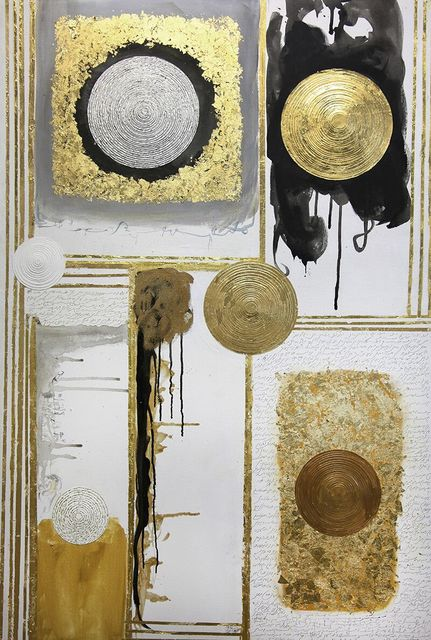, 'Saffron Series: Circles of Being,' 2017, Artist's Proof