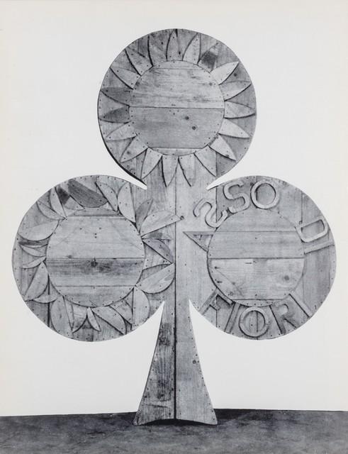 Mario Ceroli, 'Ceroli', 1964, Finarte