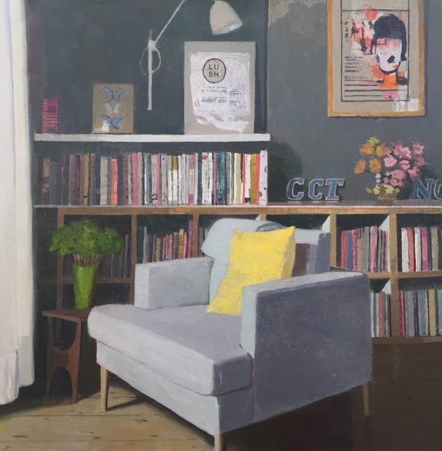 , 'Yellow Cushion ,' 2017, Long & Ryle