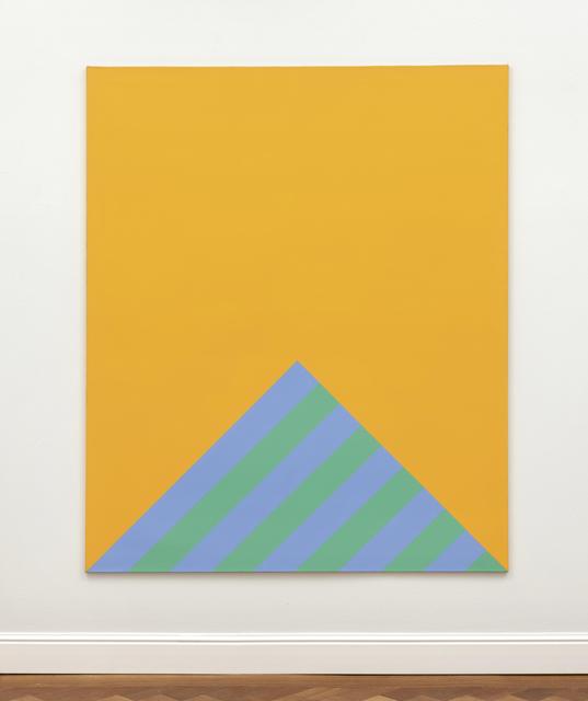 Winfred Gaul, 'Striped edge III', Ludorff