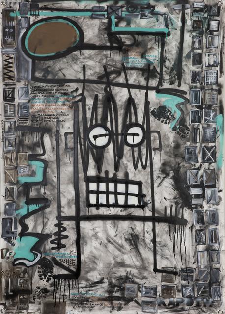 , 'Nose Construction,' 2015, Galleri Duerr