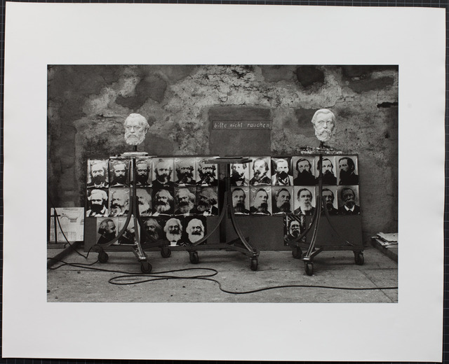 , 'Das Denkmal, Gummlin, Usedom, Frühjahr 1976,' 1988, Loock Galerie