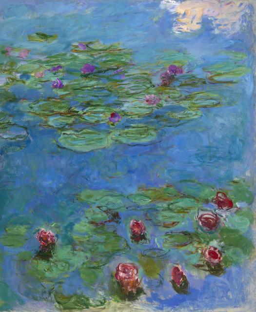 , 'Water Lilies,' ca. 1914–1917, de Young Museum