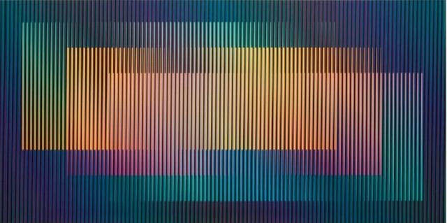 , 'Induction chromatique série Fedix 2,' 2010, Maddox Arts