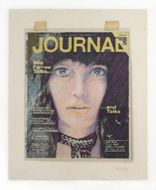 Howard Kanovitz, 'JOURNAL/Mia Farrow', 1972-1973, Eric Firestone Gallery