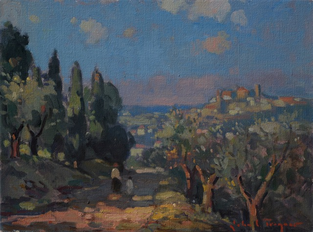 , 'View of the Hilltown, Tuscany,' , J. Cacciola Gallery