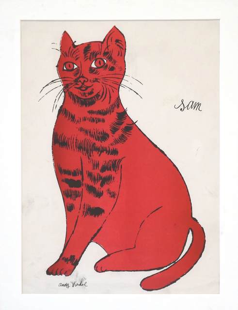 , 'Untitled (Cat named Sam),' ca. 1950, Vivian Horan Fine Art