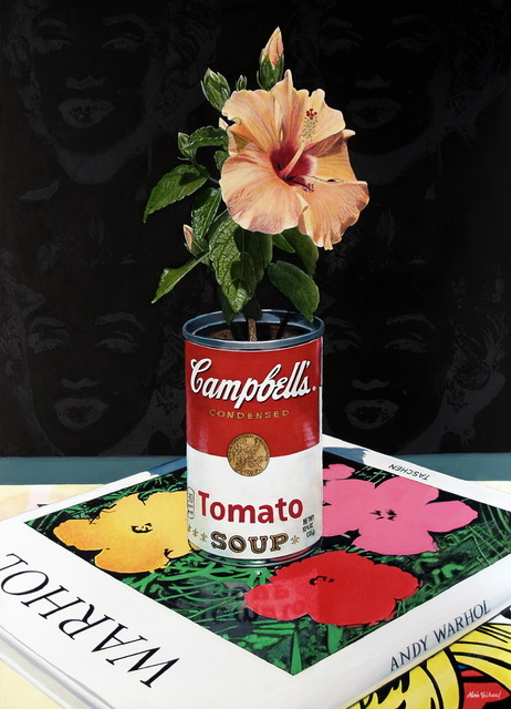 Alvin Richard, 'Hibiscus in a Campbell's Soup Can, an homage to Andy Warhol', 2019, Galerie de Bellefeuille