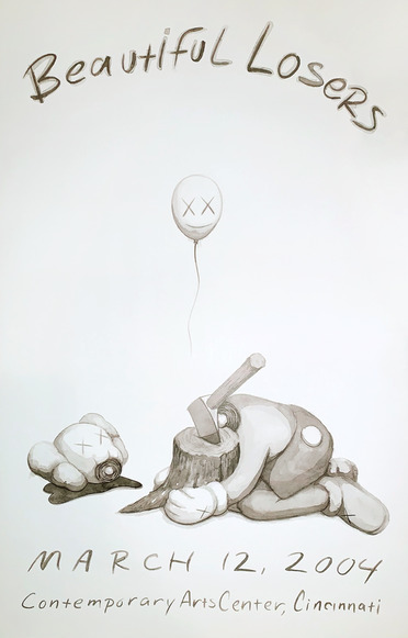 KAWS, 'Beautiful Losers Exhibition Poster', 2004, Print, Offset poster, Gallery 1890